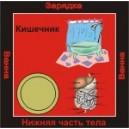 Кишечник - аудио CD к машине для зарядки воды в ванной и для зарядки бейджиков