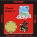 Обмен веществ - аудио CD к машине для зарядки воды в ванной и для зарядки бейджиков