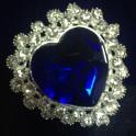 Синий кристалл «Сердце»