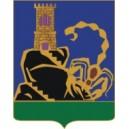 Золотой Скорпион - значок